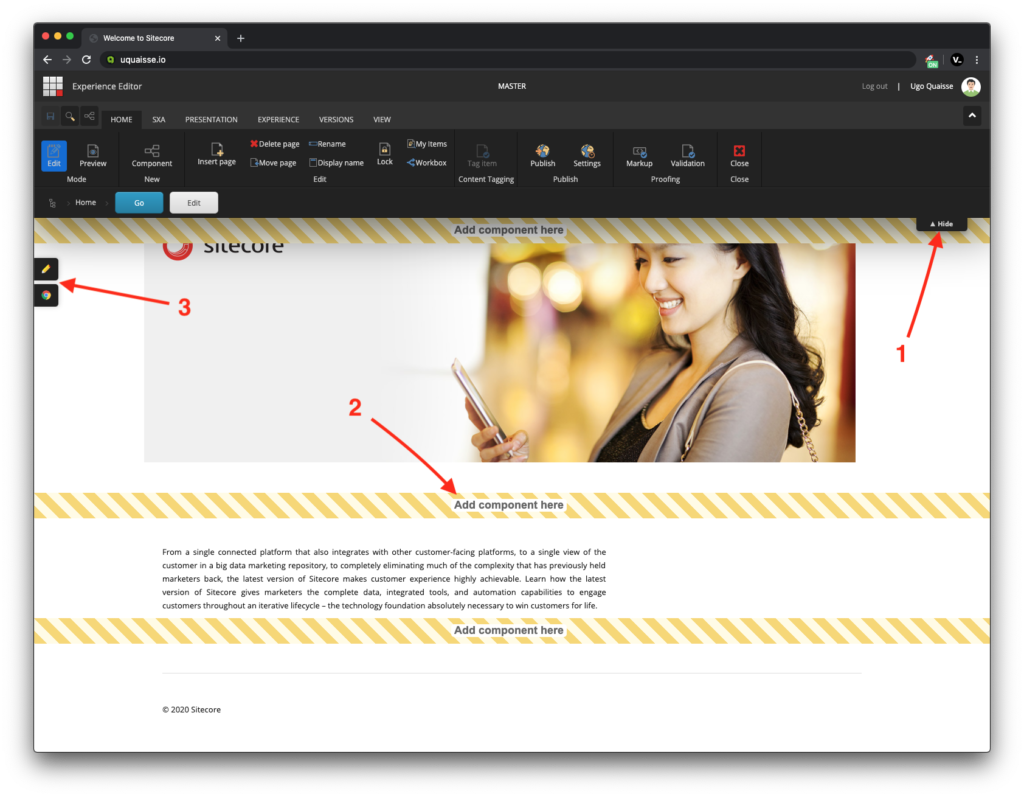 Sitecore Experience Editor Enhancement